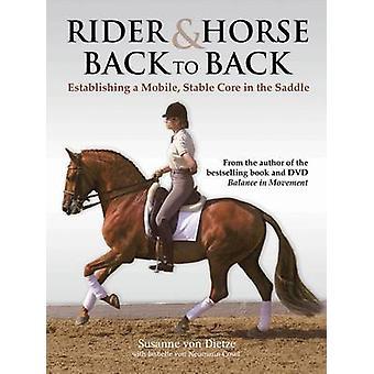 Reiter und Pferd Rücken an Rücken - Aufbau einer mobiles - stabilen Kern in