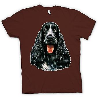 Mens t-skjorte-Cocker Spaniel - Pet - hund