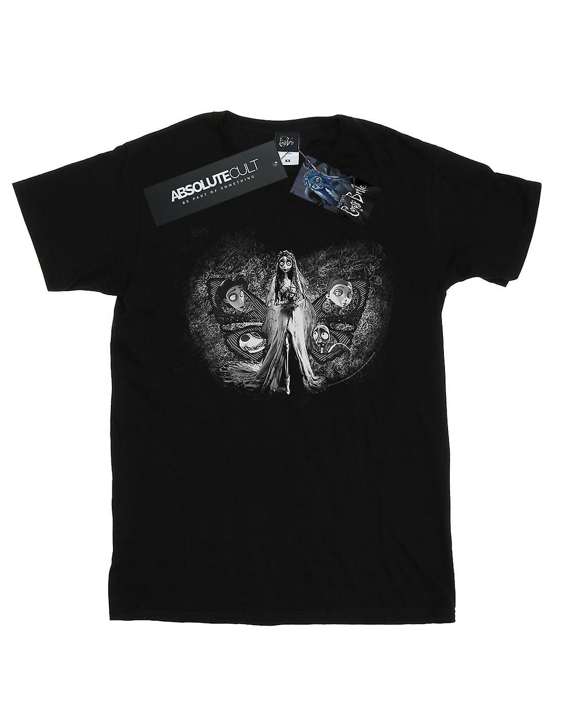 Corpse Bride Women's Love Triangle Boyfriend Fit T-Shirt