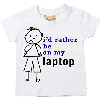 Boys I'd Rather Be On My Laptop Tshirt