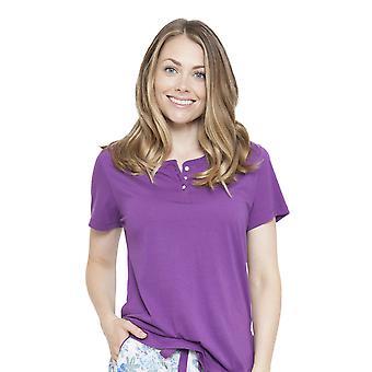Cyberjammies 4100 Frauen Andrea Purple Pyjama Top
