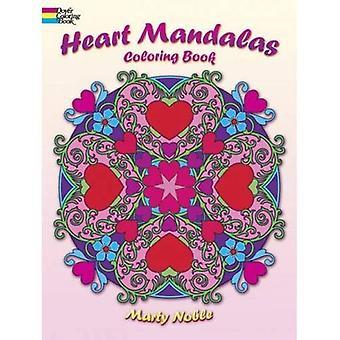 Hjärtat Mandalas målarbok (Dover målarböcker)