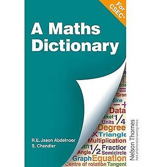 Un dictionnaire mathématique pour l'ESEC