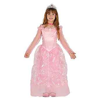 Meisjes roze prinses Fancy Dress kostuum