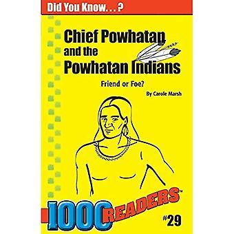 Chief Powhatan und die Powhatan-Indianer: Freund oder Feind?