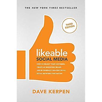 Sympathieke Social Media, derde editie: Hoe uw klanten verrukking, maken een onweerstaanbare Brand, & zijn over het algemeen geweldig op alle sociale netwerken die materie