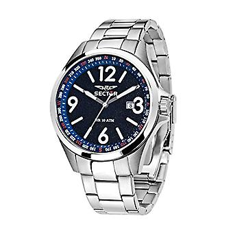 Sector men's analog quartz watch with stainless steel band R3253180002