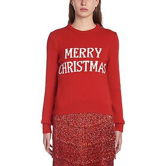 Alberta Ferretti 09481602j1111 Damen's Rote Wolle Pullover