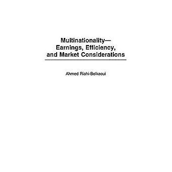 MultinationalityEarnings efficienza e considerazioni di mercato da RiahiBelkaoui & Ahmed