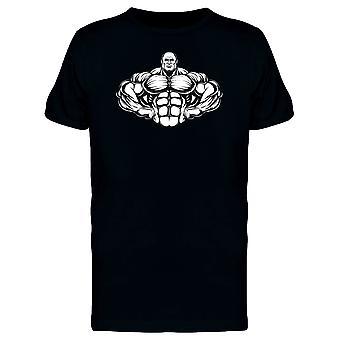 Metallic Bodybuilder Tee Men's -Image by Shutterstock