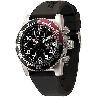 Zeno-watch mens watch airplane diver automatic chronograph 6349TVDD-12-a1-7