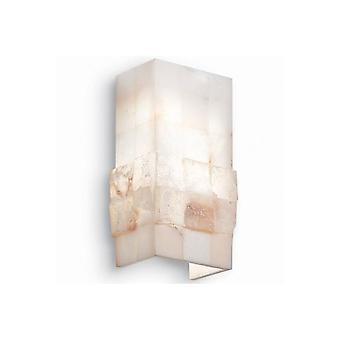 Ideal Lux Steinen 1 Marmor Stein Lichteffekt Wandleuchte
