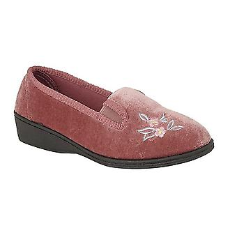 Sleepers Womens/Ladies Gina Full Gusset Slippers