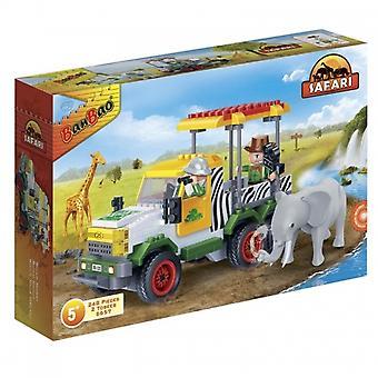 BanBao Interlocking Blocks Safari Jeep (248 Pieces)