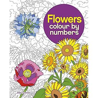 Colour by Number - Flowers by Arcturus Publishing - 9781784049799 Book