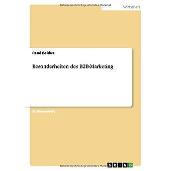 Besonderheiten des B2B-Marketing by Ren? Baldus - 9783668120112 Book