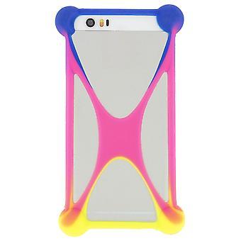 Mocca Universal Silicone Case Protection Smartphone Multicolor