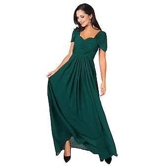 KRISP Womens Prom Maxi Kleid auf Off Shoulder Ball Kleid Abend Hochzeit lange Party 8-20