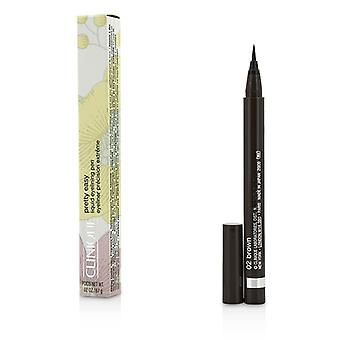 Clinique Pretty Easy Liquid Eyelining Pen-#02 Brown 0.67g/0.02oz
