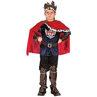 Bristolský novota/chlapecký fantasy král kostým