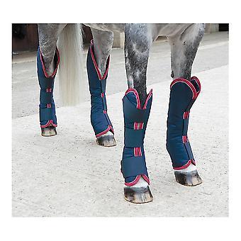 Stivali da viaggio shireo - Marina/rosso