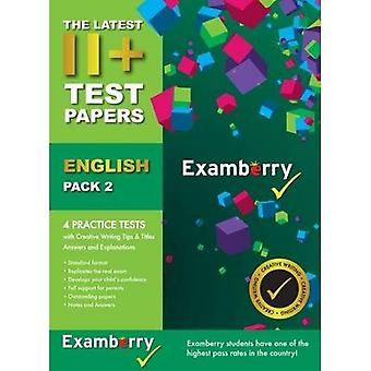11 Test Papers English Pack 2