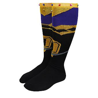 Avengers Infinity War Thanos Women's Knee High Socks