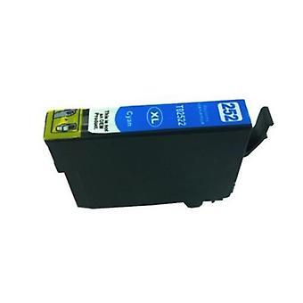 Cartucho de inyección de tinta compatible con cian 252XL