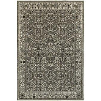 Richmond 001e3 grey/ivory indoor area rug rectangle 7'10