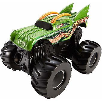 العجلات الساخنة الوحش جام القس Tredz التنين الاحتكاك لعبة سيارة 12cm