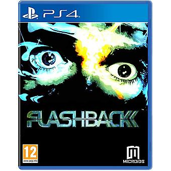 Flashback 25th Anniversary Limited Edition PS4 Game