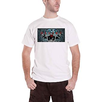 Mayans M.C. T Shirt Flores Poster new Official Mens White