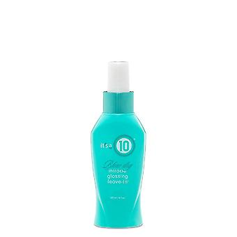 It ' s A 10 Blow Dry Miracle glossing Leave-in 120ml
