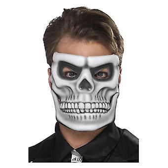 Halloweenowy dzień martwych szkieletowych mas z oddzielną szczęką ruchomą