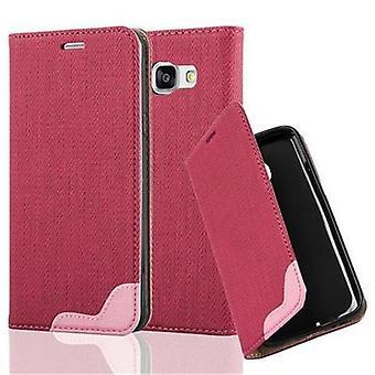 Cadorabo tilfelle for Samsung Galaxy A3 - 6 (modell 2016) tilfelle dekselet - telefon tilfelle i bast utseende med kortrom og stativ funksjon - Case Cover Beskyttende Case Case Bok Folding Style