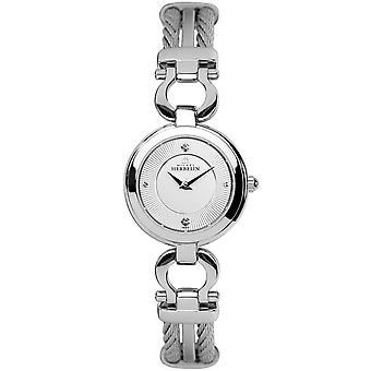 Michel Herbelin 17422-B11 Women's Cable Stainless Steel Wristwatch