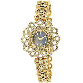 Christian Van Sant Women's Chantilly Black MOP Dial Watch - CV4814