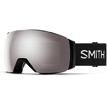 Smith I/O Mag XL Black - 95T - Sun Platinum Mirror