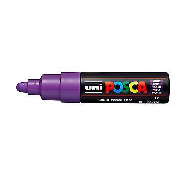 Uni POSCA PC-7M Bullet Tip Paint Marker (Violet)