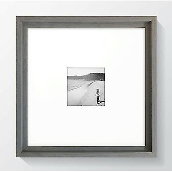Square Grey Photo Frame Picture Instagram Hoxton Black Wide Wood Effect Wall Mounted