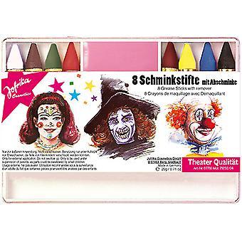 8 Schminkstifte m. maquillage hors