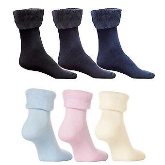 Bed Socks (Set of 3 Pairs)