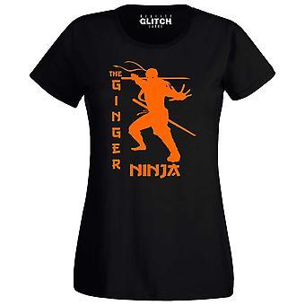 Gember Ninja Womens t-shirt