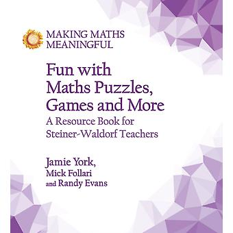 Fun with Maths Puzzles Games and More by Jamie York