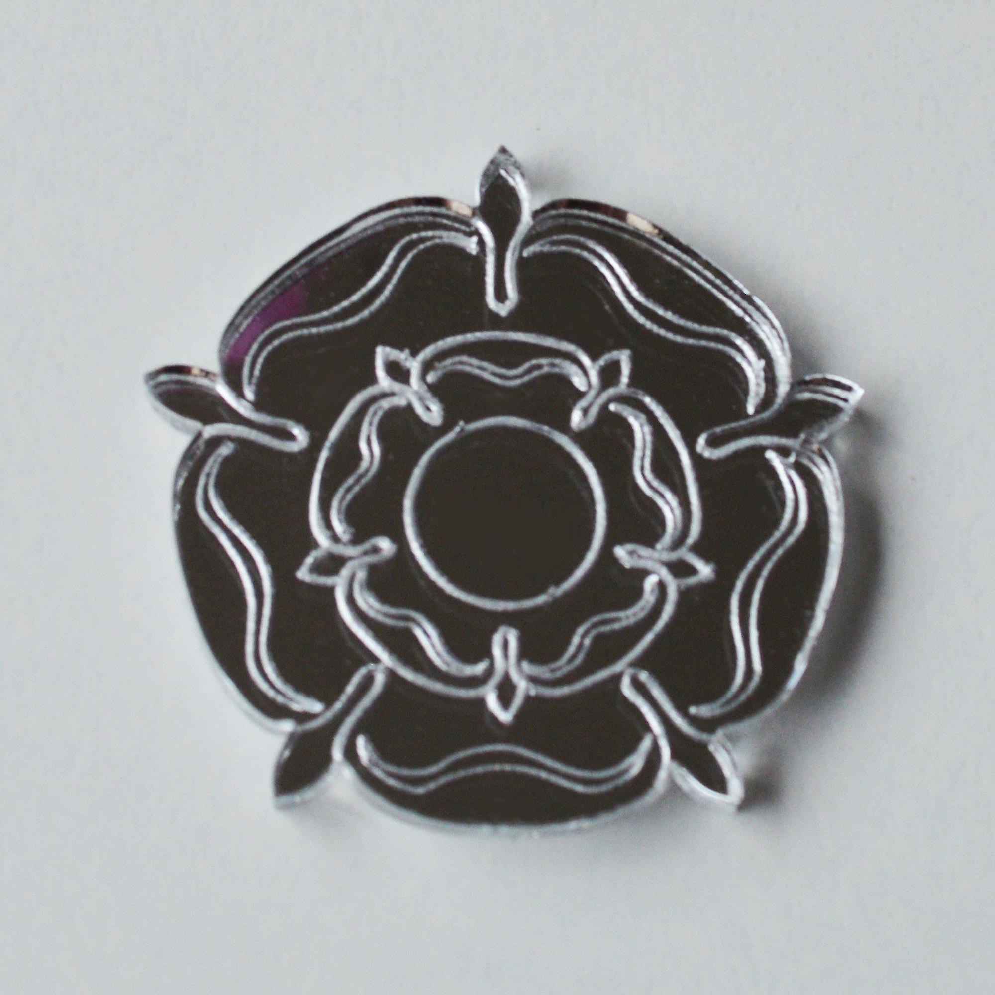 Tudor Rose Mini Craft Sized Acrylic Mirrors 10Pk
