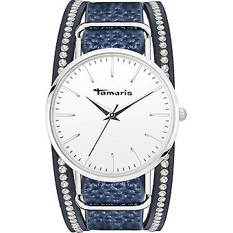 Tamaris - Wristwatch - Women - TW106 - silver, blue