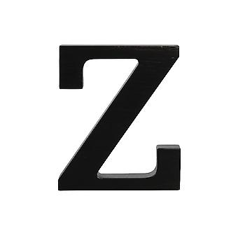 Black Large Capital Alphabet Letters-Z