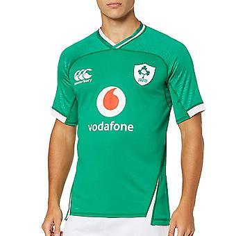 Canterbury Ireland 2019/20 Mens Vapodri Home Pro Jersey Shirt Tee Green