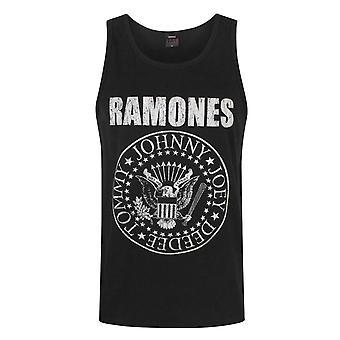 Ramones Seal Logo Hombres's Chaleco