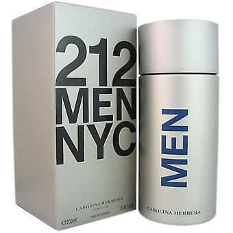 212 carolina herrera for mænd 6,75 oz 200 ml eau de toilette spray